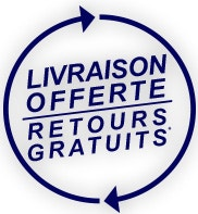 LIVRAISON ET RETOUR GRATUIT
