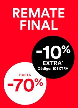 Remate Final -10% EXTRA