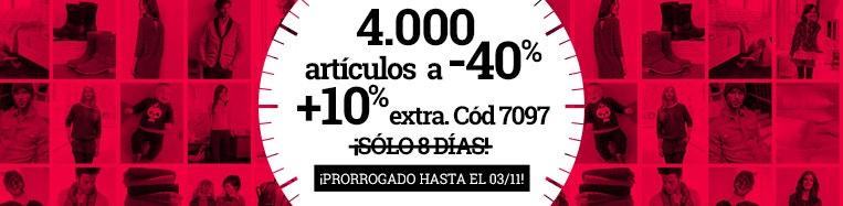 4000 artículos a -40%