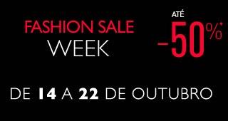 Fashion sale week até -50%*