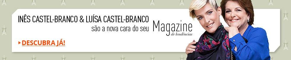 Inês Castel-Branco & Luísa Castel-Branco são a nova cara do seu Magazine de tendências