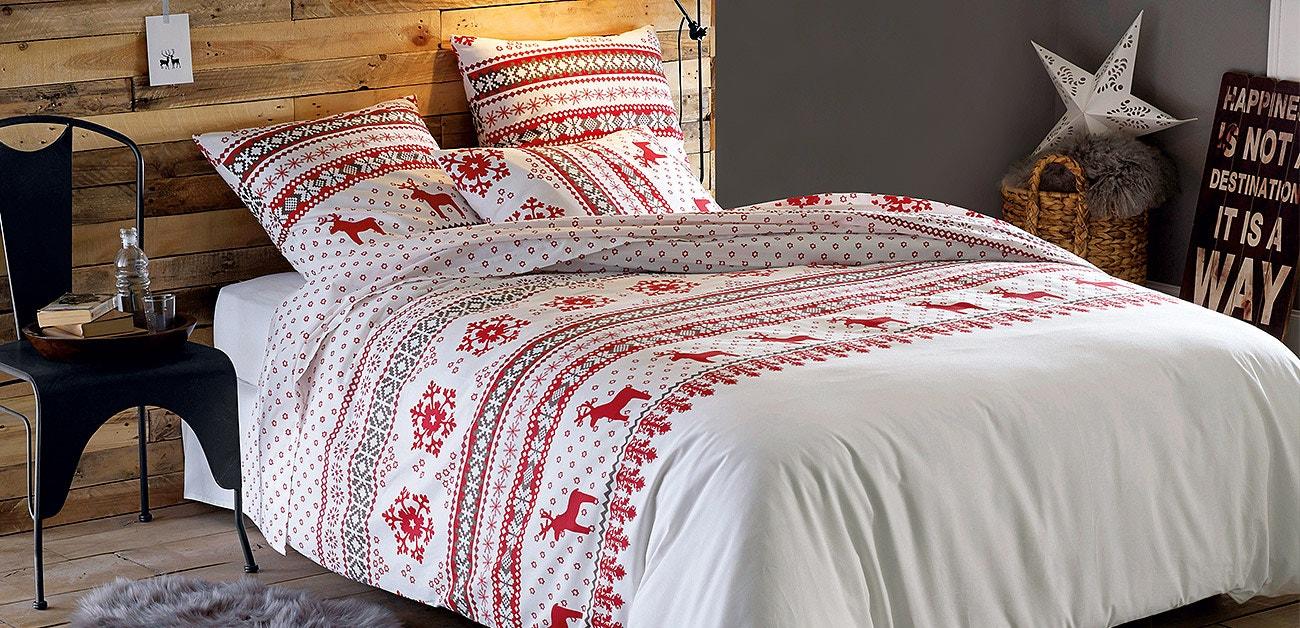 Crie um ambiente natalício: têxtil-lar até -60%