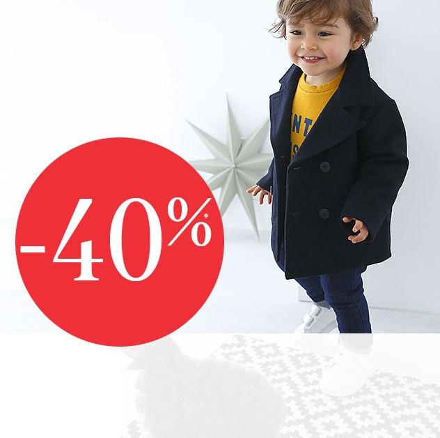 tudo a -40%* - Coleção Criança