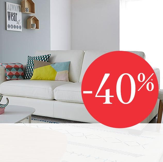 tudo a -40%* - Móveis e decoração