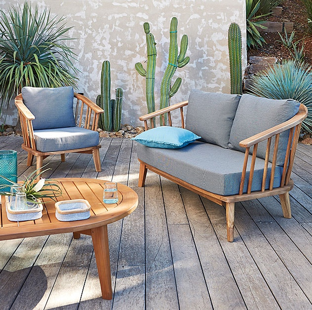 Descubra os móveis e decoração especial jardim