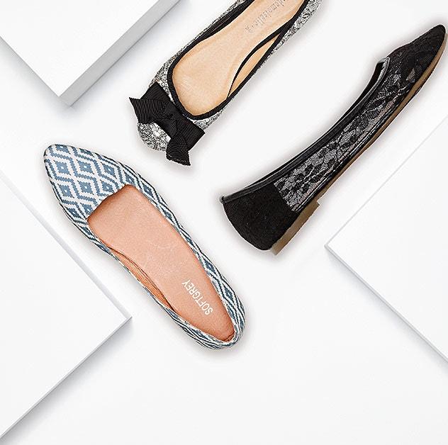 Descubra o calçado com até -80%*