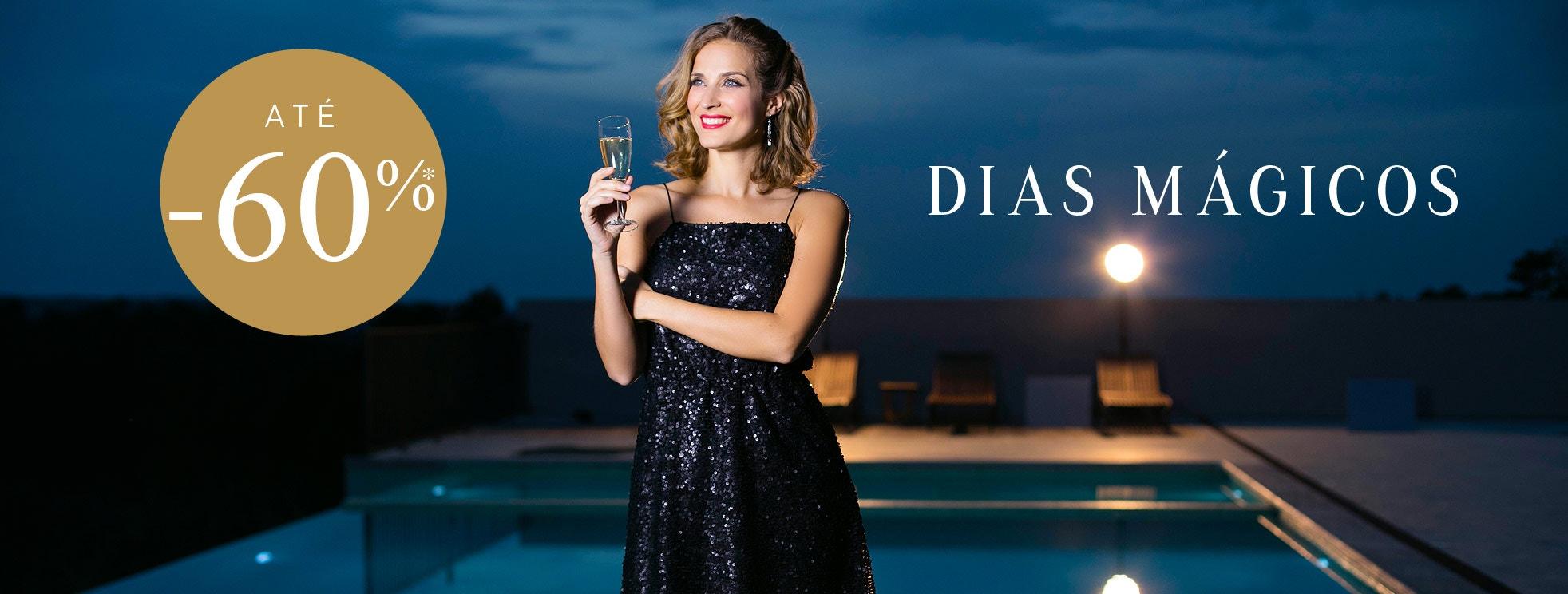 DiasMágicos até-60%* com LuísaBarbosa byLaRedoute