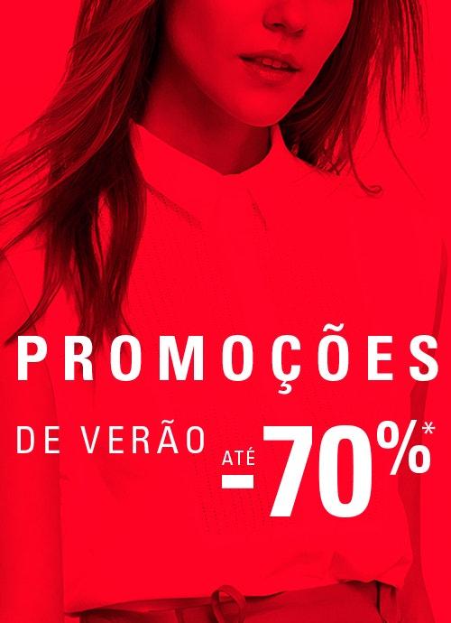 PROMOÇÕS DE VERÃO ATÉ -70%*