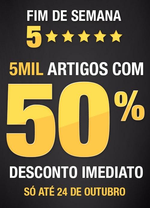 5000 ARTIGOS COM 50% DESCONTO