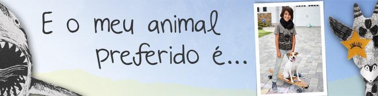 E o meu animal preferido é...