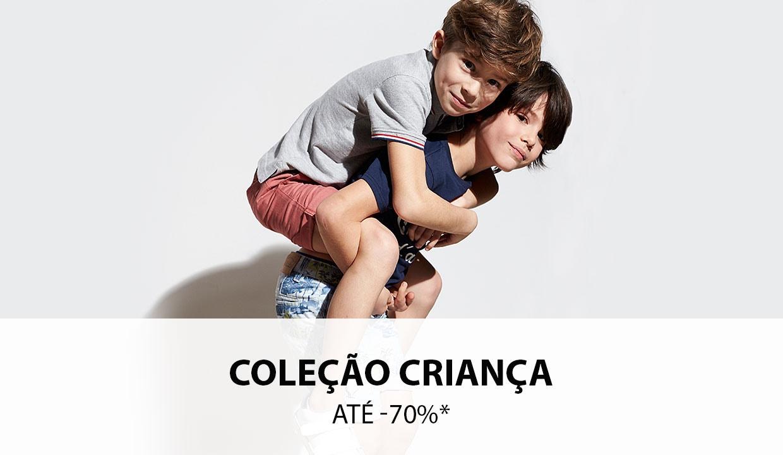 Coleção Criança até -70%*