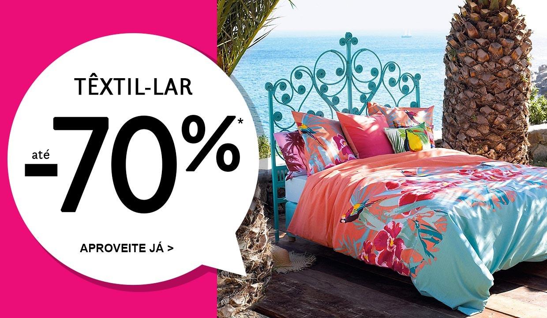Têxtil-lar até -70%*
