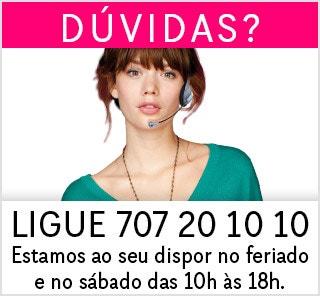 DÚVIDAS? LIGUE 707 20 10 10