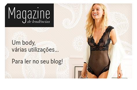 Um body, várias utilizações... Para ler no seu blog La Redoute!