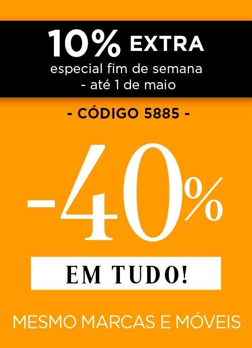 -40% EM TUDO
