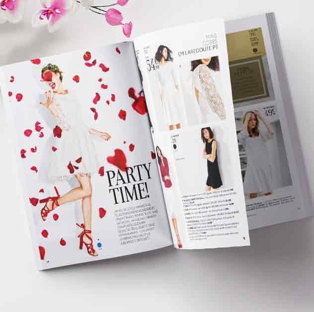 Coleção primavera folheie o catálogo on-line