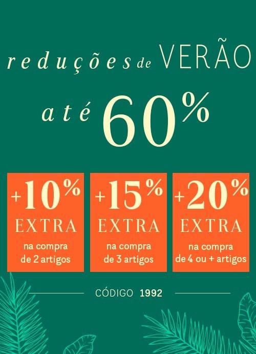 Descontos até 60% + até 20% EXTRA