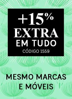 até 40% na coleção primavera + 15 EXTRA
