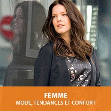 Femme. Mode, tendances et confort