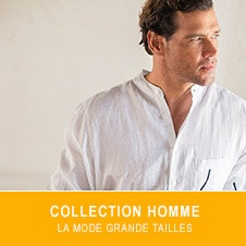 Collection Homme, la mode grande taille