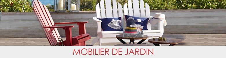 meubles de jardin am pm en soldes la redoute. Black Bedroom Furniture Sets. Home Design Ideas