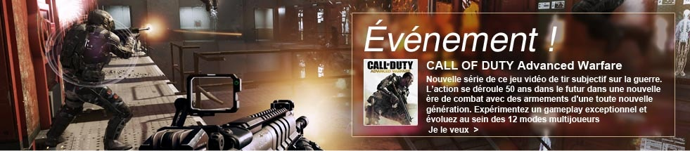 evenement call of duty