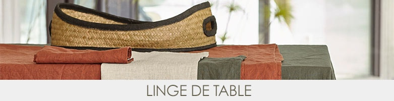 Linge de table am pm la redoute for La redoute linge de table