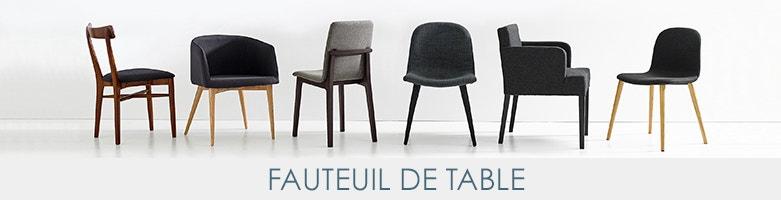 Fauteuil de table am pm la redoute - Fauteuil la redoute ampm ...