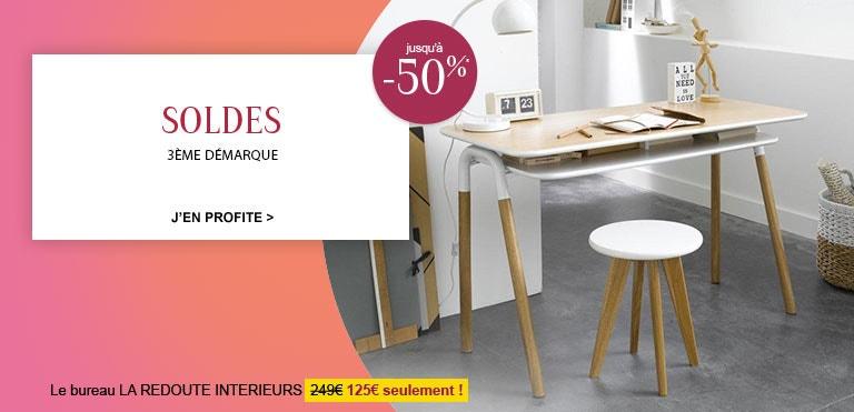 meubles d coration la redoute soldes. Black Bedroom Furniture Sets. Home Design Ideas