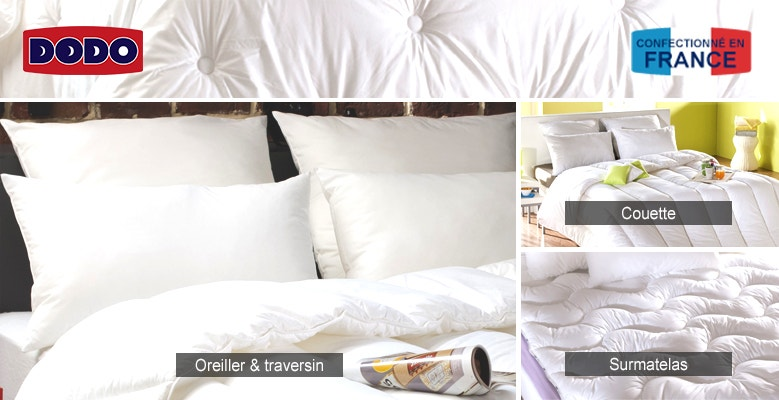 oreiller traversin boutique dodo la redoute. Black Bedroom Furniture Sets. Home Design Ideas