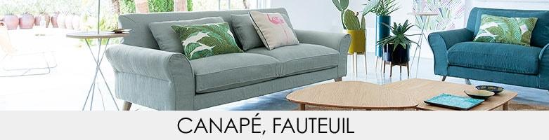 canap droit am pm la redoute. Black Bedroom Furniture Sets. Home Design Ideas