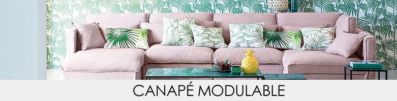 Canap modulable am pm en solde la redoute for Canape modulable solde