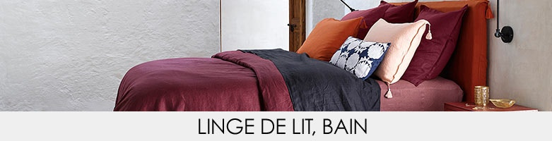 linge de lit am pm la redoute. Black Bedroom Furniture Sets. Home Design Ideas