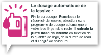 Guide lave linge la redoute - Lave linge dosage automatique lessive ...