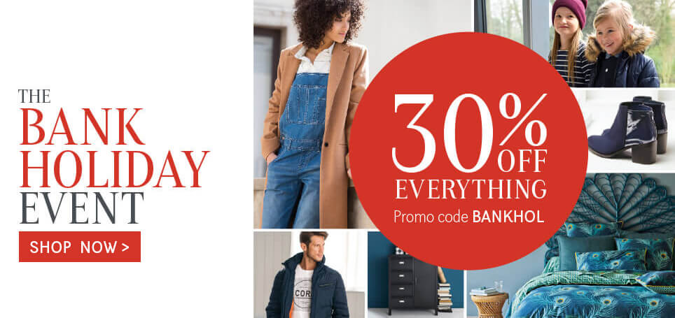 la redoute Bank Holiday Event