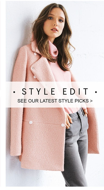 Style Edit - See our favourite picks