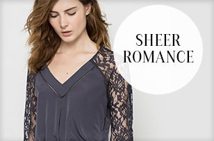 new collection Sheer Romance