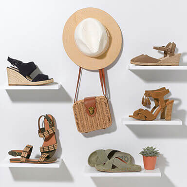 Womens Holiday Sandals and Flip Flops Category Image