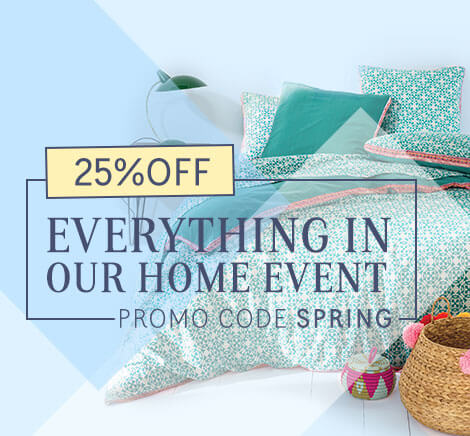 25% OFF Everything in our Home Event