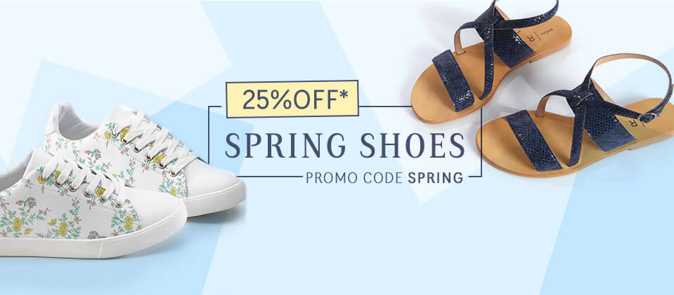 25% OFF Spring Shoes