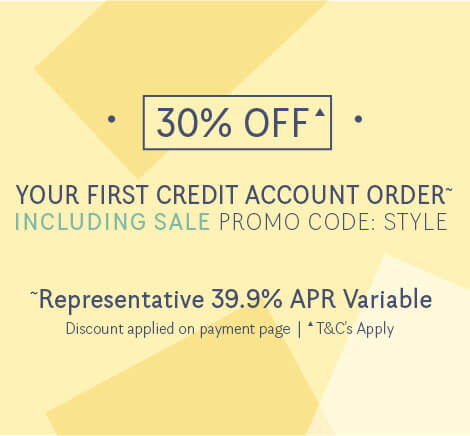 30% OFF Your First Style Account Order