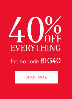 40% Off Everything - BIG40 - Brands version