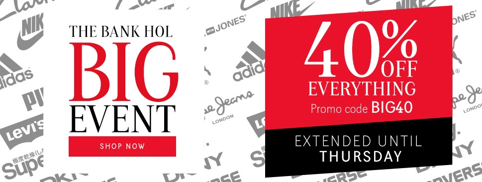 The Bank Holiday BIG Event