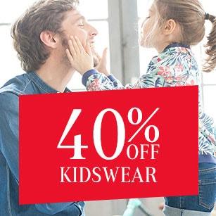 40% OFF Kidswear