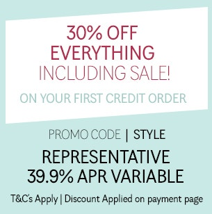 Credit Offer - Up to 30% Off on first order
