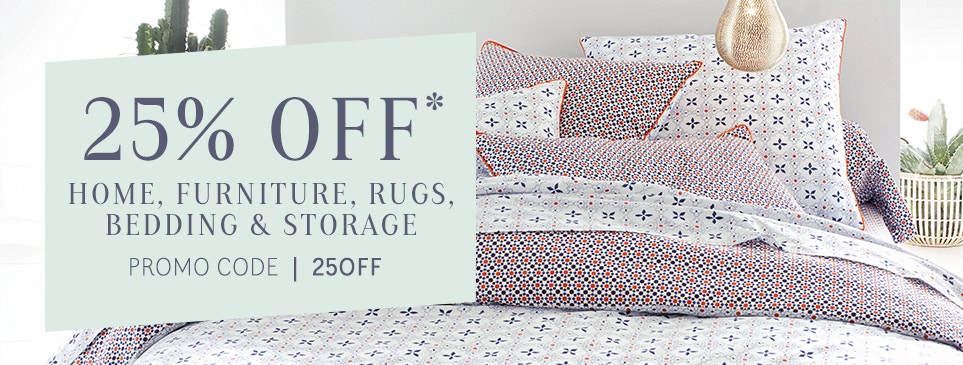 Homeware - 25% Off with 25OFF