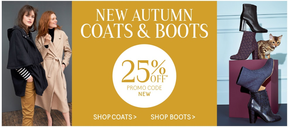 NEW Autumn Coats and Boots