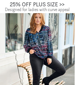 25% OFF Plus Size