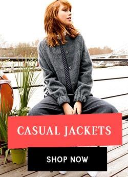 Women Breakzone for casual jackets