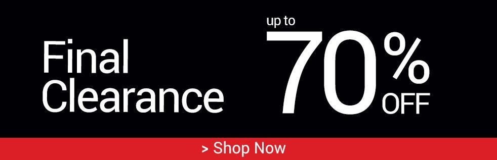 Final Clearance, Up to 70% off > Shop Now